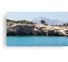 Hidden Greek Beauty Canvas Print