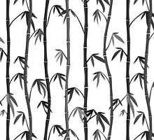 Bamboo stems by Marta Jonina