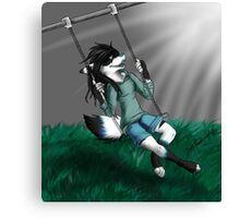 Swinging Fox Canvas Print