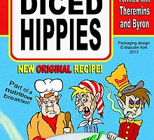 Diced Hippies by Malcolm Kirk