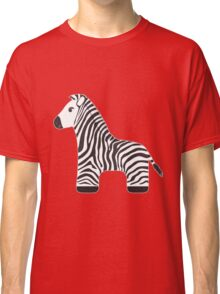 Cartoon Zebra Classic T-Shirt