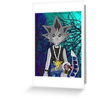 Yugi the Trip King  Greeting Card