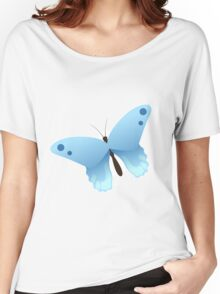 Cute cartoon butterfly Women's Relaxed Fit T-Shirt