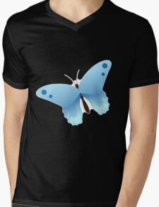 Cute cartoon butterfly Mens V-Neck T-Shirt