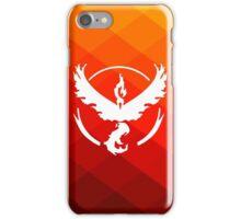 Team Valor Logo from Pokemon Go iPhone Case/Skin