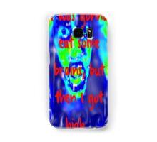 I Was Gonna Eat Some Brains, But Then I Got High... Samsung Galaxy Case/Skin