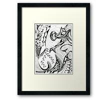 Pen & Ink Framed Print