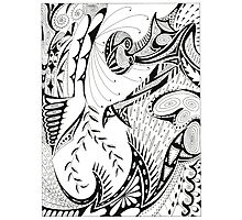 Pen & Ink Photographic Print