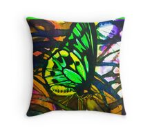 Birdwing Throw Pillow