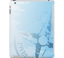 Wind rose compass iPad Case/Skin