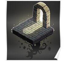 Dungeon Tile Monster Artwork Poster