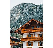Alpine Architecture Photographic Print