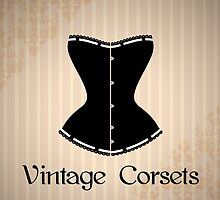 Eegant corset silhouette by Marta Jonina