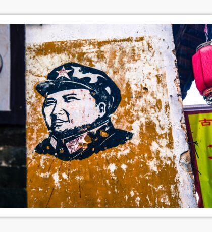 Huangyao, China - Mao Zedong Sticker