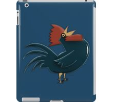 Blue Rooster iPad Case/Skin