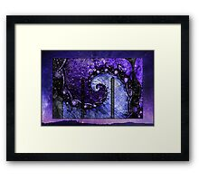 Nocturne of Scorpio -- Fractal Astrology Framed Print