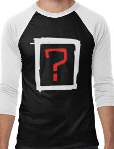 where is the love Men's Baseball ¾ T-Shirt