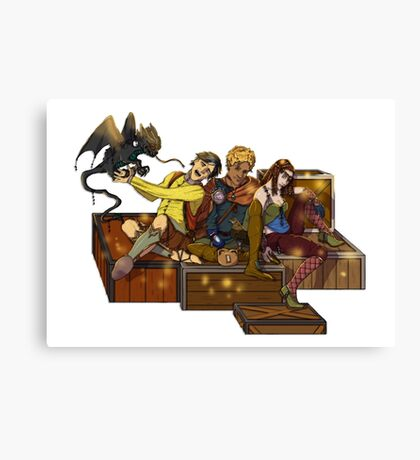 Adventurers Canvas Print