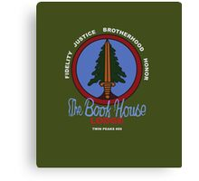 The Book House Canvas Print