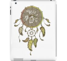 Ethnic dream catcher with feathers iPad Case/Skin