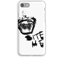 Bite Me! iPhone Case/Skin