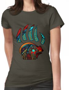 Bear Claw Womens Fitted T-Shirt