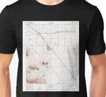 USGS TOPO Map Arizona AZ Sacaton NE 313190 1956 24000 Unisex T-Shirt