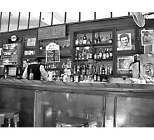 A Bar in Old Havana Photographic Print