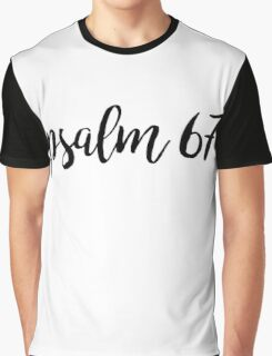 Psalm 67 Graphic T-Shirt