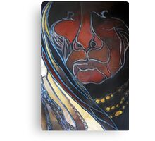 Otavaleño Woman in Ecuador Canvas Print