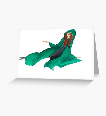 St. Alia of the Knife Greeting Card