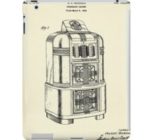 Phonograph Cabinet-1940 iPad Case/Skin
