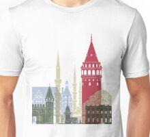 Istanbul skyline poster Unisex T-Shirt