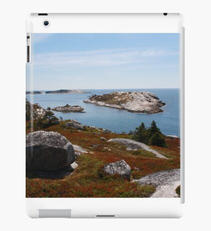 Fall on the Nova Scotia Coast iPad Case/Skin