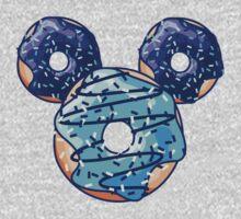 Pop Blue Donut Kids Tee