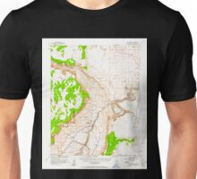 USGS TOPO Map Arizona AZ Lees Ferry 314746 1954 62500 Unisex T-Shirt