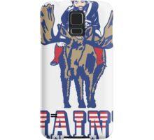 MAINE - Patriot on Mooseback - New England Patriots Samsung Galaxy Case/Skin