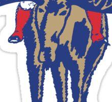 MAINE - Patriot on Mooseback - New England Patriots Sticker