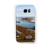 Fall on the Nova Scotia Coast Samsung Galaxy Case/Skin