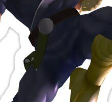 Falcon's Knee of Justice Sticker