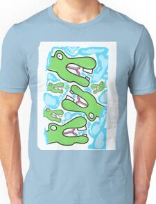 Crocodile dude Unisex T-Shirt