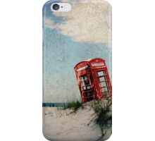 Phone Box on Holiday iPhone Case/Skin