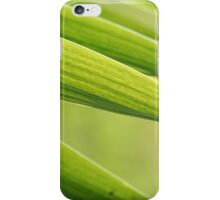 Abstract iris leaf background iPhone Case/Skin