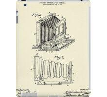 Folding Photographic Camera-1904 iPad Case/Skin
