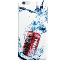 Phone Box goes for a Swim iPhone Case/Skin