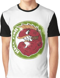 HellFish (Abe Simpson) Graphic T-Shirt