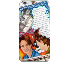 The Fault in Our Stars Inspired Drawing iPhone Case/Skin