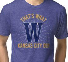The Big W! Tri-blend T-Shirt