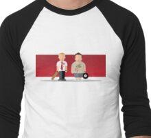 Zom Rom Com Men's Baseball ¾ T-Shirt
