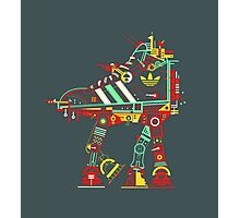 Robot Walker Photographic Print